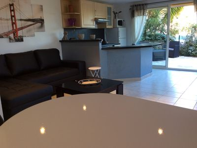 Photo for Apartment 4 people in villa at 10 MN by car from the beaches of Sainte Maxime