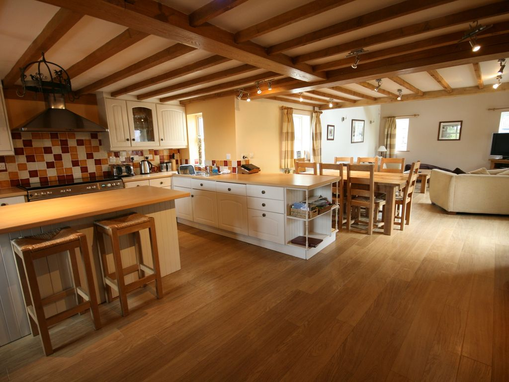 Luxury converted barn in the heart of anglesey bryngwram for Luxury barn homes