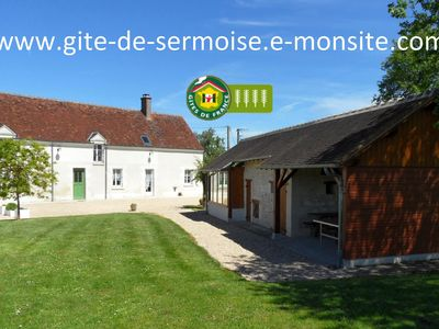 Photo for 5BR Cottage Vacation Rental in Vicq-sur-Nahon, Centre-Val de Loire