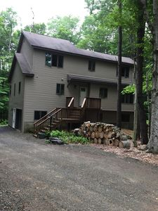 Photo for Luxurious home in Pocono, PA (Big Bass Lake)