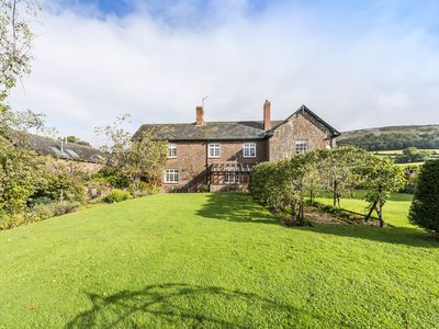 Photo for An exceptionally spacious holiday home overlooking a beautiful rural valley.