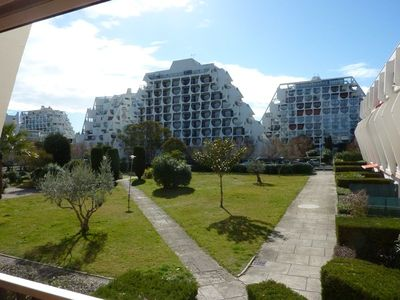 Photo for In the heart of La Grande Motte with private parking