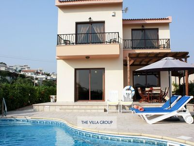 Photo for Pissouri Villa, Sleeps 6 with Pool and Air Con
