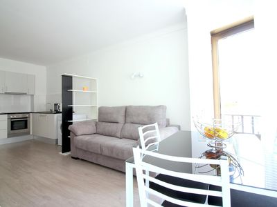 Photo for Renovated apartment in the center of Roses.