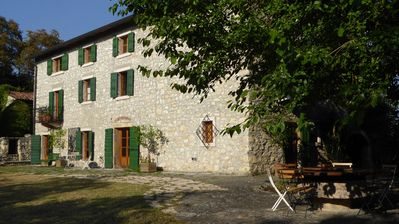 Photo for Beautiful family house in the hills between Verona and Lake Garda