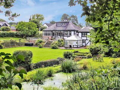 Photo for Frog Manor, Hot Tub and fantastic gardens