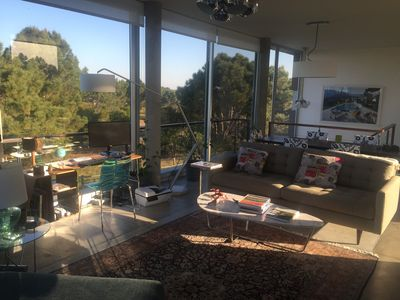 Photo for Amazing Mid-Century With Treetop and Ocean Views
