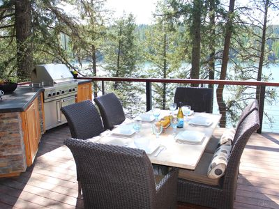 Photo for Incredible Waterfront Home on Hayden Lake with private dock
