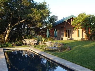 Photo for Dog Friendly  Vineyard Estate Cottage with Lap Pool and Incredible Views