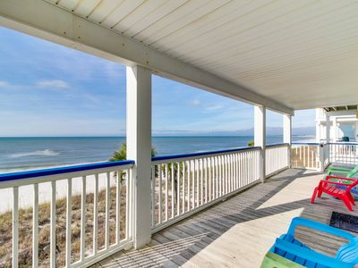 Photo for Oceanfront snowbird retreat w/sweeping sea views, beach access, & tranquility!