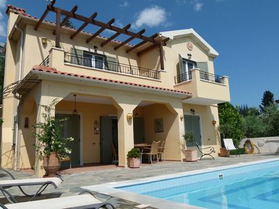 Photo for Family Villa With Private Pool, Sea And Mountain Views, WiFi