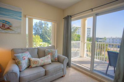 Private Balcony on the South Side Unit of Sunset Vistas