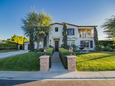 Photo for Amazing 6 bd. Luxury Home walking distance to Coachellafest/Stagecoach venue!!!