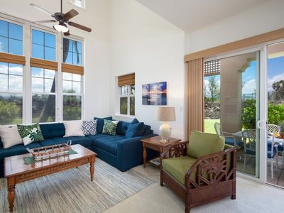 Waikoloa Colony Villas 1705. Two story townhome.  Includes beach gear!