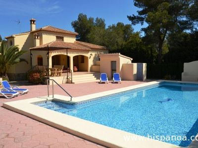Photo for Conditioned holiday villa with pool 6 persons Javea Costa Blanca