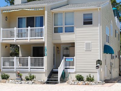 Photo for 3 Houses from Beach, Upper Unit with Rooftop Deck!