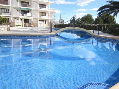 Photo for Apartbeach Las Mimosas apartments to beachfront