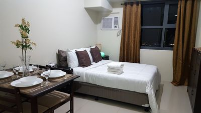 Photo for Beautiful Studio with Panoramic View (Horizons 101 Condominium Cebu)