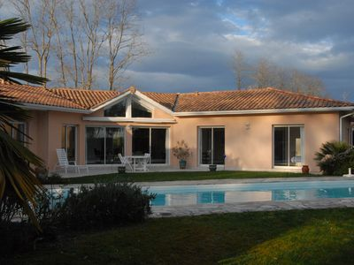 Photo for Villa Comtemporaine 170 M2 POOL 13x4,5 - 5 bedrooms