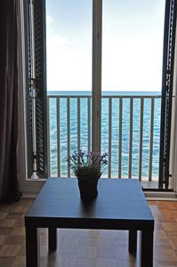Photo for Piran Apartment With Gorgeous Sea Views, Direct on the Sea, renovated!