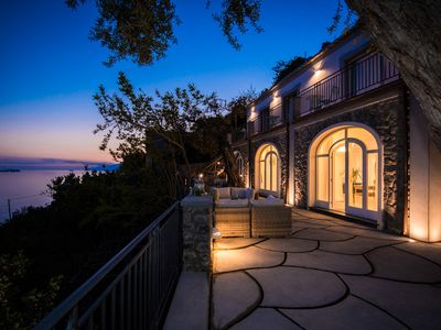 Photo for Luxury Villa in Positano, Newly Restored with Panoramic Water Views