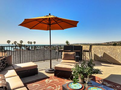 Photo for NEW LISTING! Oceanview home w/fireplace & rooftop patio, walk to North Beach