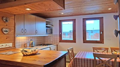 Photo for CH24PAE - TRIPLEX CHALET 3 BEDROOMS, TERRACE AND BALCONY
