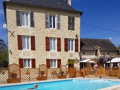 Photo for Attractive Villa in Château-Garnier with Swimming Pool