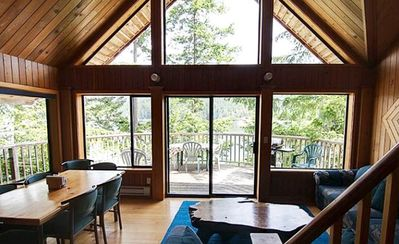 Photo for Tranquil Getaway! Chalet with Loft by the Ocean with a Patio + BBQ!