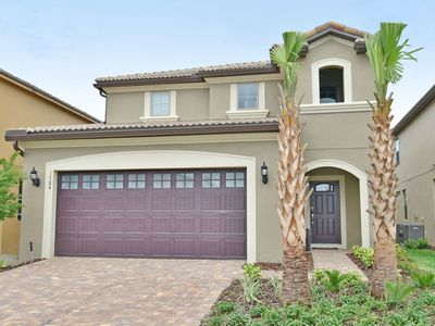 Photo for Windsor Palms 5 Bedrooms 3.5 Baths Pool/Spa Gated WOW Club House 5 Mins Disney
