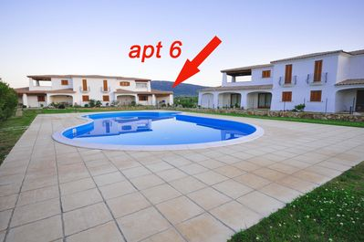 Apartment 6 with shared pool
