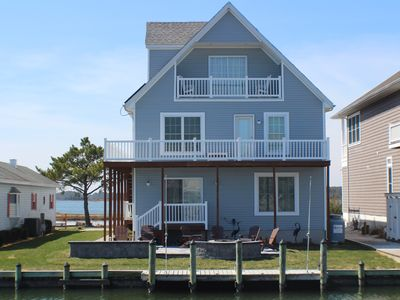 Photo for Upscale Waterfront Home with Elevator, Solar Powered