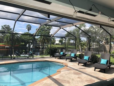 Photo for 3 BR/2BA Waterfront Pool Home with Gulf Access - Paradise!