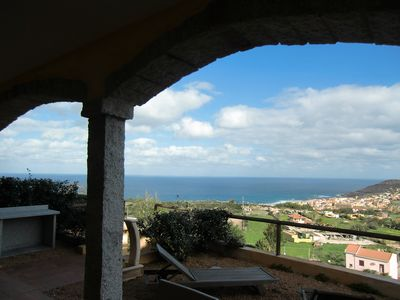 Photo for Domus Sarda - Le Mimose - sea view apartment with garden