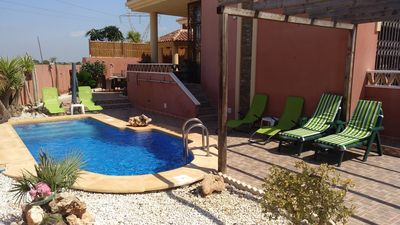 Photo for 3 bedroom detached villa with private pool