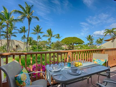 Photo for Private Ocean View Condo in Best South Kihei Location! 2 king bed/2B, sleeps 6.