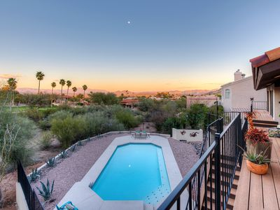 Photo for Breathtaking Four Peaks Mountain views, nestled on Desert Canyon Golf Course