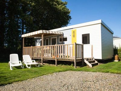 Photo for Camping Les Alizés *** - Mobile Home Declick 4 Rooms 7 People