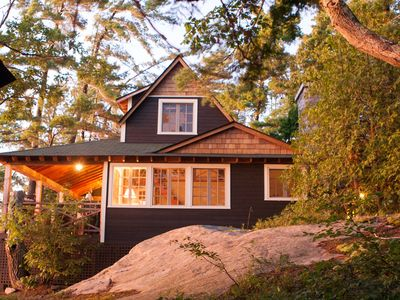 Photo for Private Island in Muskoka sleeps 14