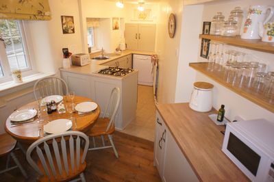 Anne Cottage - the updated and well equipt kitchen/diner
