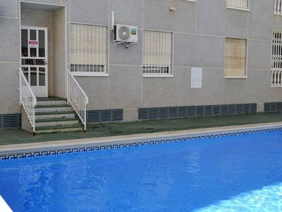 Photo for Homerez last minute deal - Nice apt with shared pool and Wifi