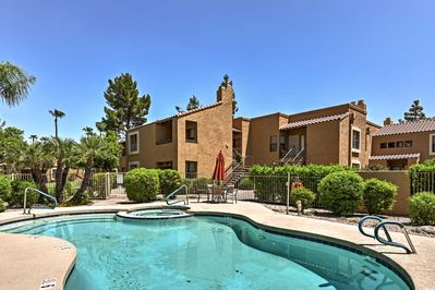 Dive into your next Scottsdale getaway at this vacation rental condo!