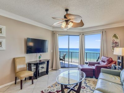 Photo for Spacious Beachfront Condo | Private Covered Parking | My Beach Getaways