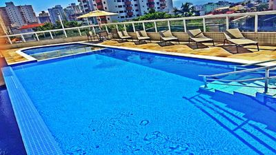 Photo for 💙Linda View of the Sea, Pool, Games Room-Balcony Barbecue - 200 m Beach-TOP