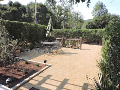 Photo for Mid Carmel Valley Guest Cottage w/ Large Private Patio & Driveway Great Location