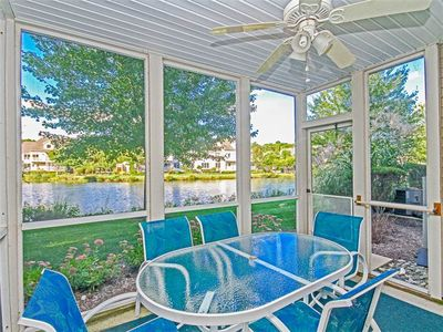 Photo for 5501H: Lakefront 3BR Sea Colony West TH - Sleeps 8 - Private beach, pools, tennis ...