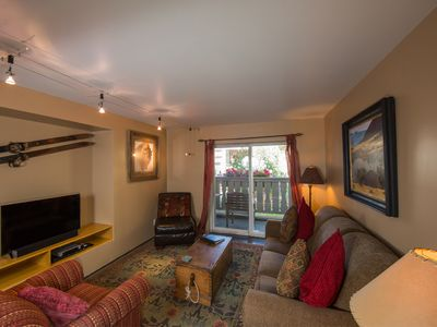Photo for Vail Village Condo, Outdoor Pool, Hot Tub, and Garage Parking