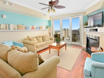 South Beach is a luxurious building overlooking the boardwalk, beach and ocean on 7th street.