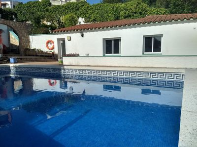 Photo for Beautiful villa with pool 3km from the most beautiful beaches of the Costa Brava