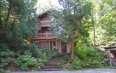 Photo for Welcome to the Eagle's Nest!  Ski & Mountain Bike Paradise Perched in the Trees